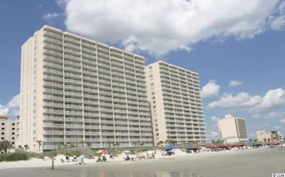 North Myrtle Beach Condo/Townhouse For Sale: 1625 South Ocean Blvd. #1103