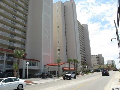North Myrtle Beach Condo/Townhouse For Sale: 1625 S Ocean Blvd. #N1703