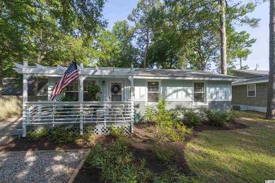 Surfside Beach Single Family Home Active Under Contract: 1027 South Myrtle Dr.