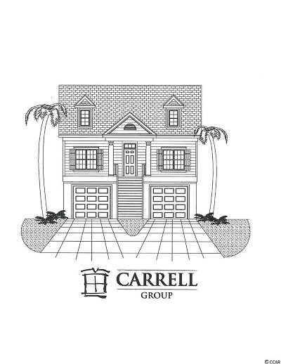 Myrtle Beach Single Family Home For Sale: Lot 71 Chamberlin Rd.