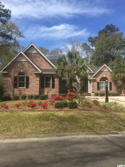 Pawleys Island Single Family Home For Sale: 16 Sweetwater Ct.