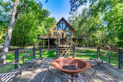Conway Single Family Home For Sale: 100 Waccamaw River Dr.