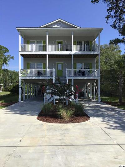 North Myrtle Beach Single Family Home For Sale: 805 Hillside Dr. N