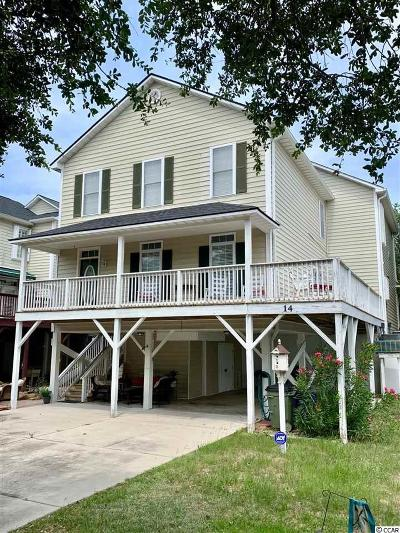 Surfside Beach Single Family Home For Sale: 14 Pinewood Dr. S