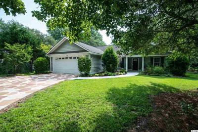 Pawleys Island Single Family Home Active Under Contract: 132 Woodville Circle
