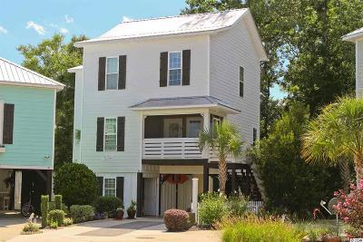 Murrells Inlet Single Family Home For Sale: 45 Fish Shack Alley