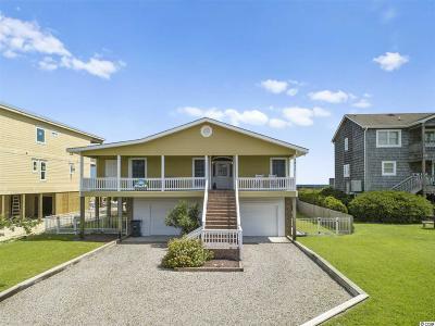 Holden Beach Single Family Home For Sale: 1211 Ocean Blvd.