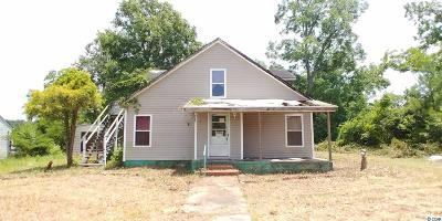 Loris Single Family Home For Sale: 4346 Monroe St.