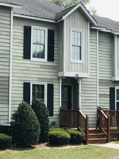 Georgetown County Condo/Townhouse For Sale: 4840 Moss Creek Loop #43