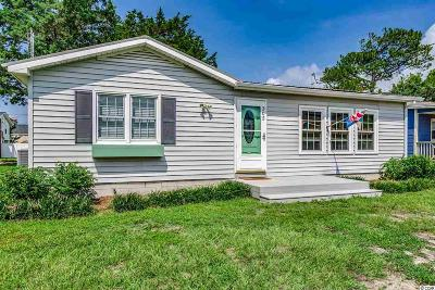 North Myrtle Beach Single Family Home Active Under Contract: 305 22nd Ave. N