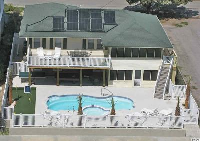 North Myrtle Beach Single Family Home For Sale: 2504 S Ocean Blvd.
