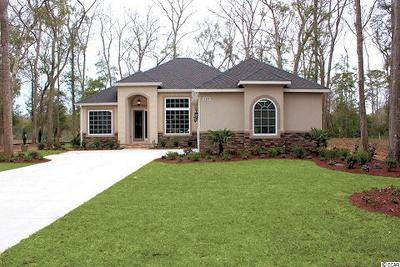 Pawleys Island Single Family Home For Sale: 124 Tanglewood Dr.