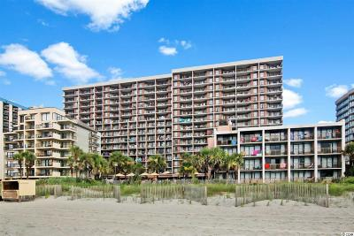 Myrtle Beach Condo/Townhouse For Sale: 7200 N Ocean Blvd. #116
