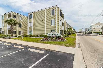 North Myrtle Beach Condo/Townhouse For Sale: 4801 N Ocean Blvd. #3-D