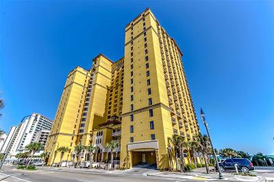 Myrtle Beach Condo/Townhouse For Sale: 2600 N Ocean Blvd. #1715