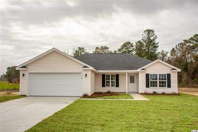 Conway Single Family Home Active Under Contract: Tbd Hallie Martin Rd.