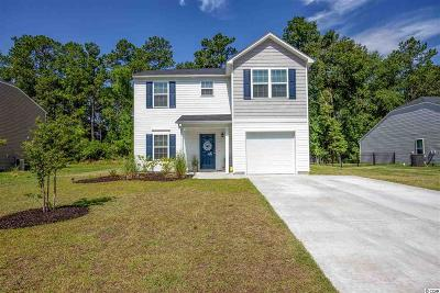 Loris Single Family Home Active Under Contract: 416 Cotton Grass Dr.