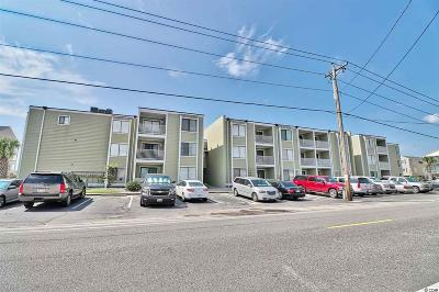 North Myrtle Beach Condo/Townhouse For Sale: 4801 N Ocean Blvd. N #2C