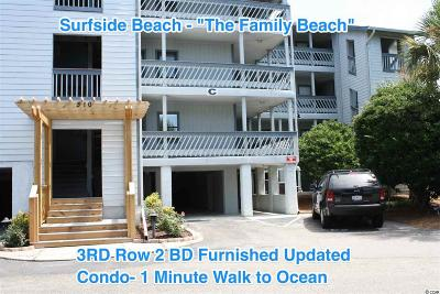 Surfside Beach Condo/Townhouse Active Under Contract: 310 3rd Ave. N #C-3