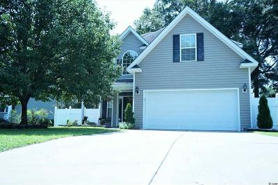 Murrells Inlet Single Family Home For Sale: 237 Chesapeake Ln.