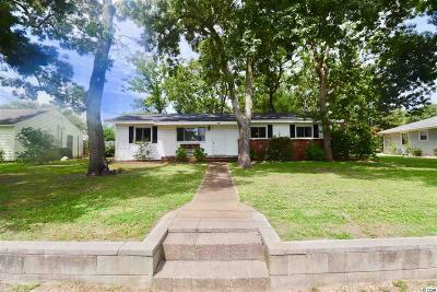 Myrtle Beach Single Family Home For Sale: 406 Sunset Trail