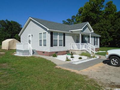 Conway Single Family Home For Sale: 2271 Steritt Swamp Rd.