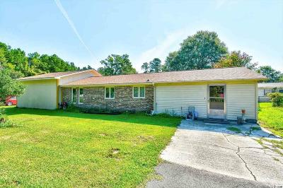 Conway SC Single Family Home For Sale: $134,900
