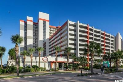 Myrtle Beach Condo/Townhouse For Sale: 7200 N Ocean Blvd. #225