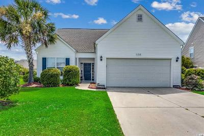Myrtle Beach Single Family Home For Sale: 132 Powder Springs Loop