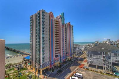 North Myrtle Beach Condo/Townhouse For Sale: 3500 N Ocean Blvd. N #807