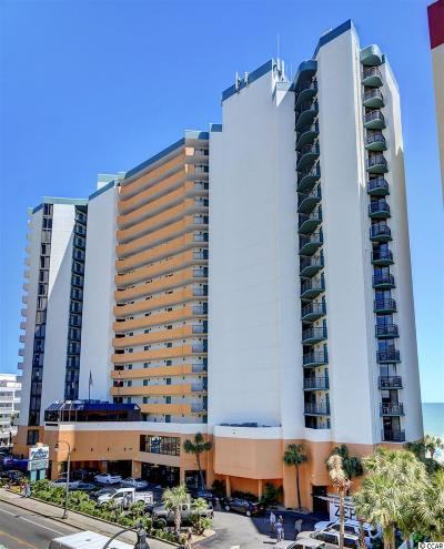 Myrtle Beach Condo/Townhouse For Sale: 2710 North Ocean Blvd. #1808