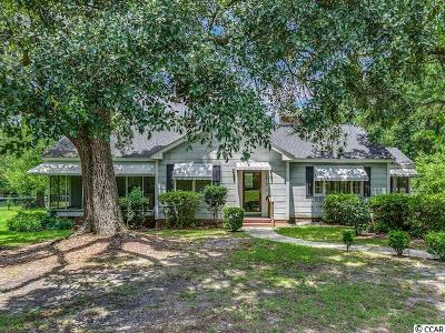 Conway Single Family Home For Sale: 3470 Cates Bay Hwy.