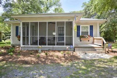 North Myrtle Beach Single Family Home For Sale: 613 40th Ave. S