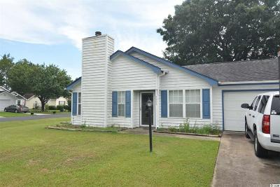 Myrtle Beach SC Single Family Home For Sale: $107,000