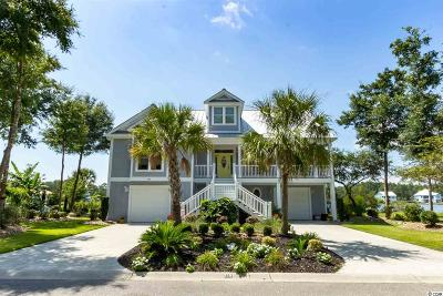 Murrells Inlet Single Family Home For Sale: 213 Deep Lake Dr.