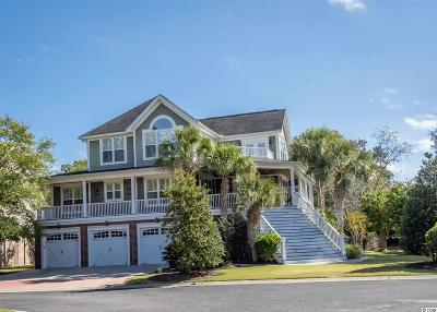 Murrells Inlet Single Family Home For Sale: 9 Gasparilla Circle