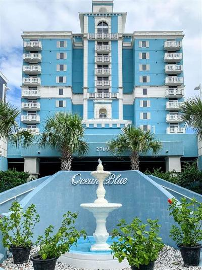 Myrtle Beach Condo/Townhouse For Sale: 2709 S Ocean Blvd. #903