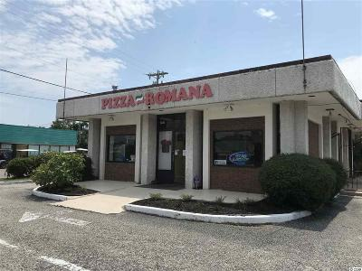 Horry County Commercial Active Under Contract: 701 Souths Kings Highway #Pizza Ro