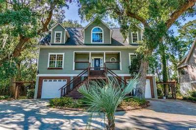 Pawleys Island Single Family Home For Sale: 21 Marsh Point Dr.
