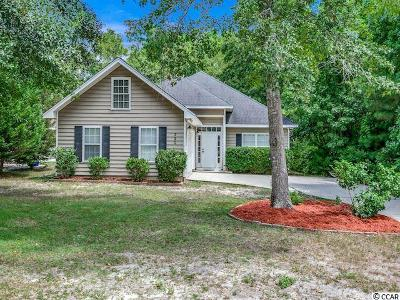 Pawleys Island SC Single Family Home For Sale: $315,000