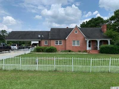 Loris SC Single Family Home For Sale: $155,000