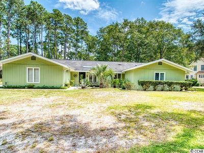 Pawleys Island Single Family Home For Sale: 372 Country Club Dr.
