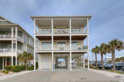 North Myrtle Beach Single Family Home For Sale: 5207 North Ocean Blvd.