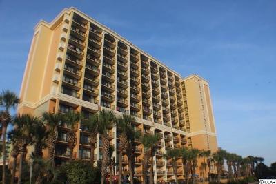 Myrtle Beach Condo/Townhouse For Sale: 6900 N Ocean Blvd. #324
