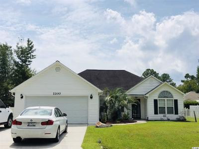 Longs Single Family Home Active Under Contract: 2200 Seaford Dr.