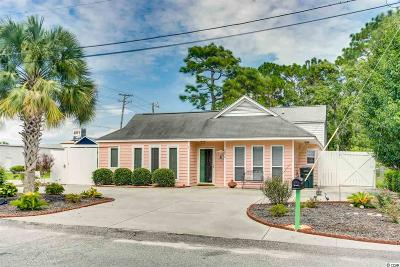 North Myrtle Beach Single Family Home For Sale: 708-A 24th Ave. S