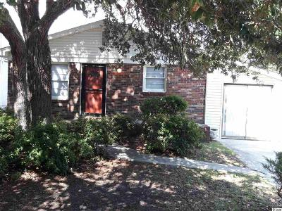 Atlantic Beach Single Family Home Active Under Contract: 506 S 32nd Ave. S