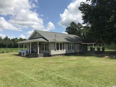Galivants Ferry SC Single Family Home For Sale: $75,000