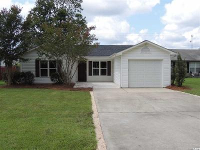 Myrtle Beach Single Family Home Active Under Contract: 2943 Temperance Dr.