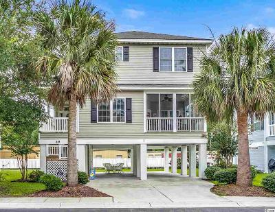 Surfside Beach Single Family Home For Sale: 619 South Palmetto Way